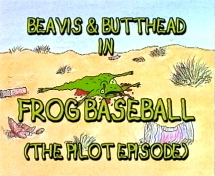 Beavis and Butt-Head: Frog Baseball - video dailymotion