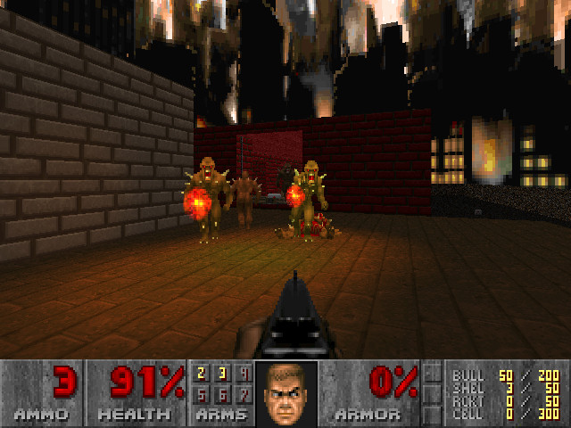 Captain Williams =/\= | Doom II: Hell on Earth Feature | PC DOS and