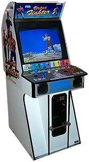 Virtua Fighter Arcade Cabinet