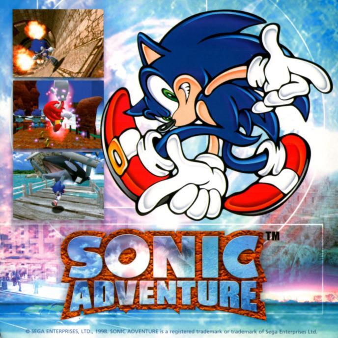 Sonic Adventure Dreamcast 1998