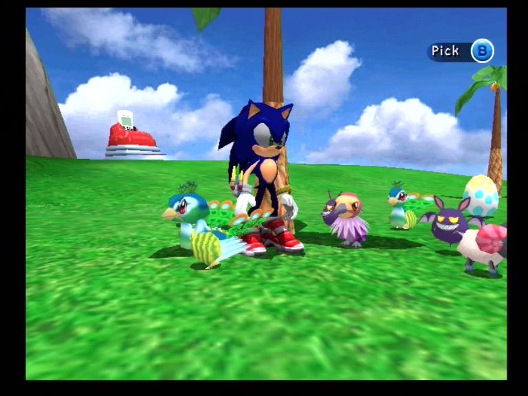 Captain Sonic Adventure 2 Feature