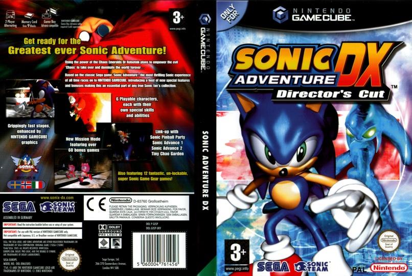 Captain Williams =/\= | Sonic Adventure DX | SEGA 2003