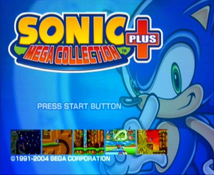 Captain Williams Sonic Mega Collection Plus Sega 2004 5 Xbox Pc And Ps2