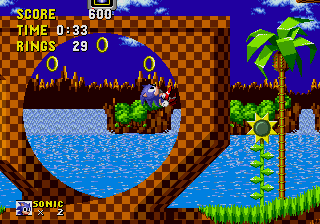 Captain Williams Sonic The Hedgehog Feature Mega Drive Genesis Green Hill Zone