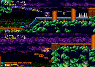 Sonic Mania's launch trailer shows off new levels, new ...  |Sonic Generations 2 Player Mode