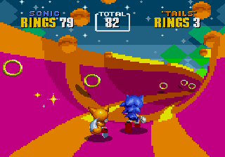 [MD] Sonic the Hedgehog 2 Specialstage1
