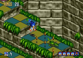 Captain Williams co uk =/\=   Sonic 3D   Saturn, Mega Drive