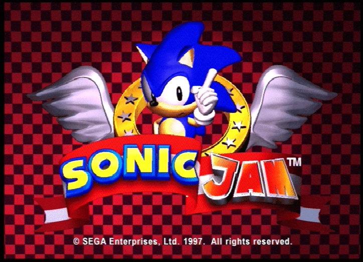 Captain Williams Sonic Jam Sega Saturn 1997