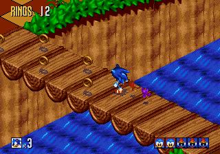 تحميل لعبة القنفذ سونيك Sonic 3D Blast